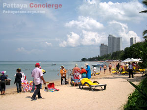 wong amat beach at Naklua Pattaya