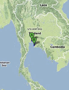 Thailand - Bangkok to Pattaya