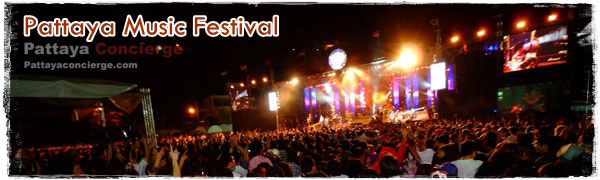 Pattaya Music Festivals