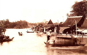 main river in chachoengsao